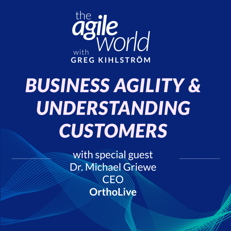 Ortholive Founder Featured on the Agile World Podcast