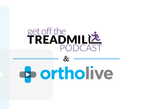 Ortholive Founder Featured on the Get Off the Treadmill Podcast