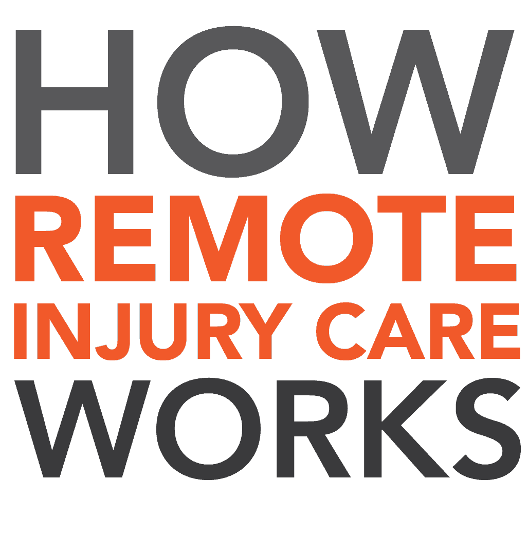 How Remote Injury Care Works