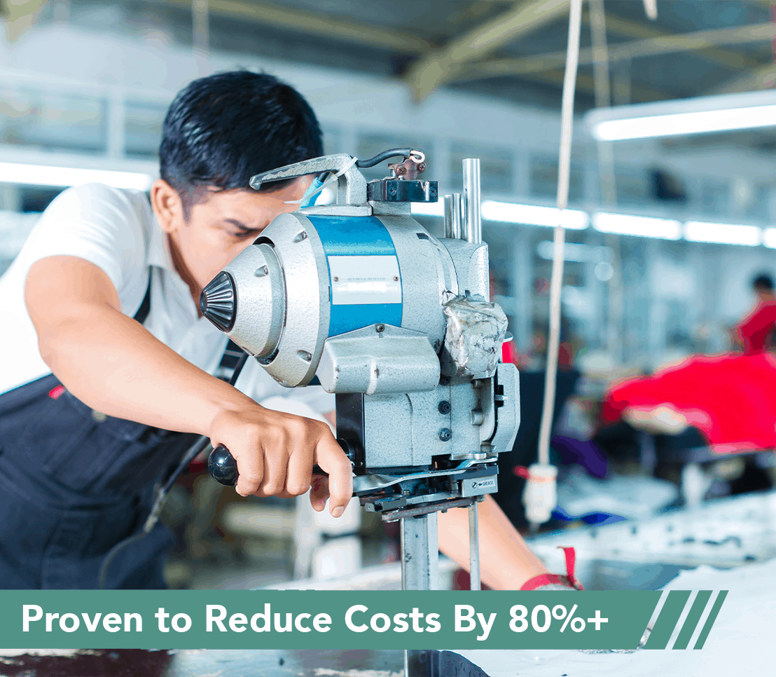 Reduce Costs by 80%+